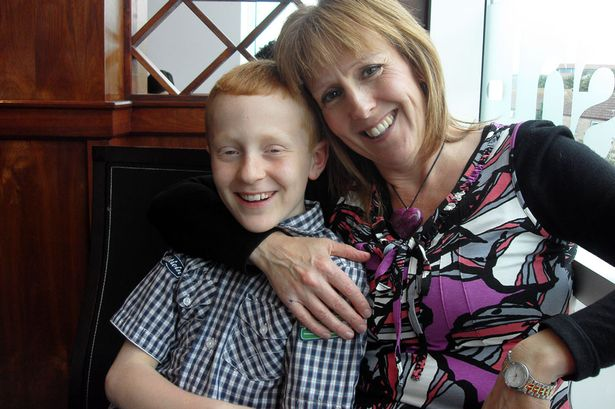 Julie Brooks and son, Simon Brooks