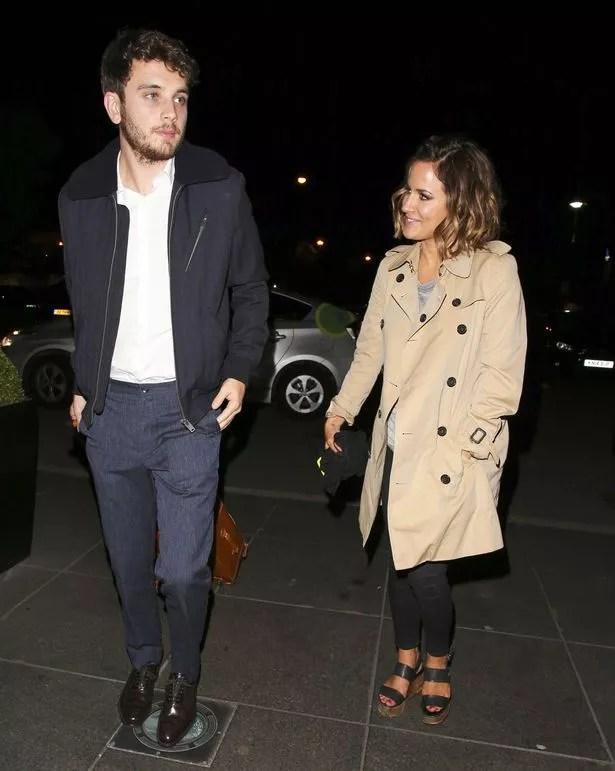Caroline Flack and ex-boyfriend Jack Street