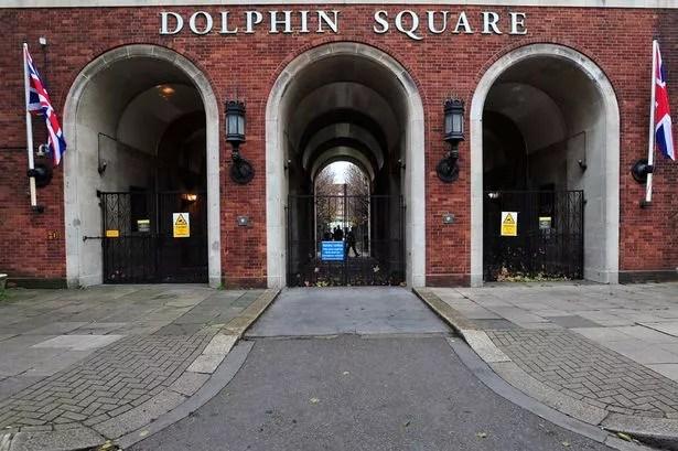 General view of Dolphin Square in Pimlico, London