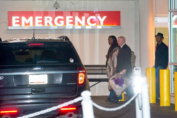 Bobbi Kristina's family pictured moving her belongings to rehab centre as she's moved