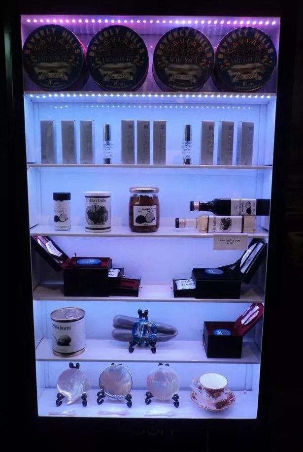 Beverly Hills Caviar vending machine