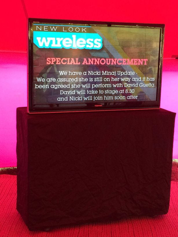 Wireless Nicki Minaj to perform with David Guetta