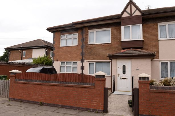 Gary Tomlinson's old specially converted semi-detached home