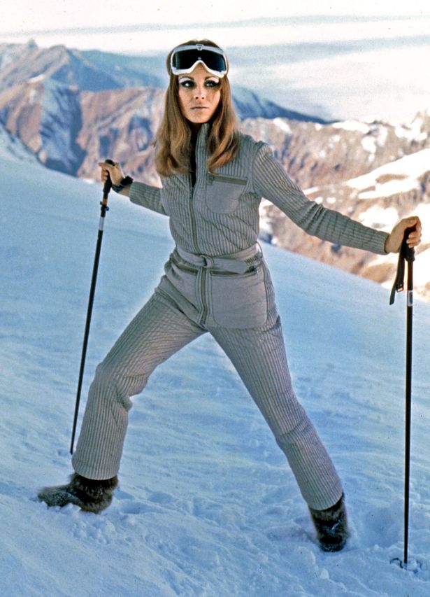 Joanna Lumley in James Bond