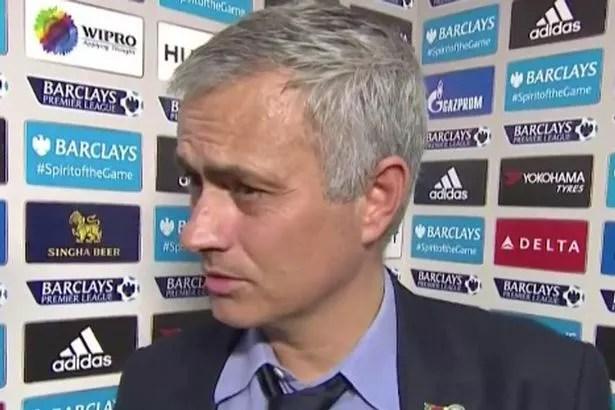 Jose Mourinho post-match interview