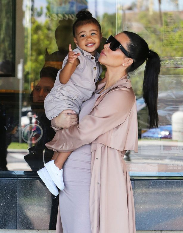 North is going to be the best sister to Saint