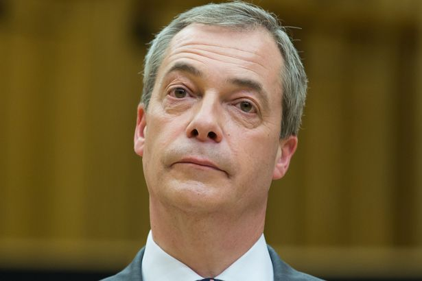 Nigel Farage at the EU Referendum Debate between First Minister Carwyn Jones and UKIP Leader Nigel Farage