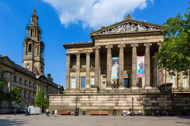 Town Hall and Harris Museum and Art Gallery, Market Square, Preston