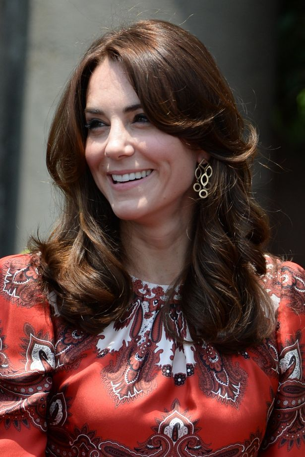 Kate Middleton wore Cassandra Goad Temple of Heaven earrings for her first engagement in Mumbai