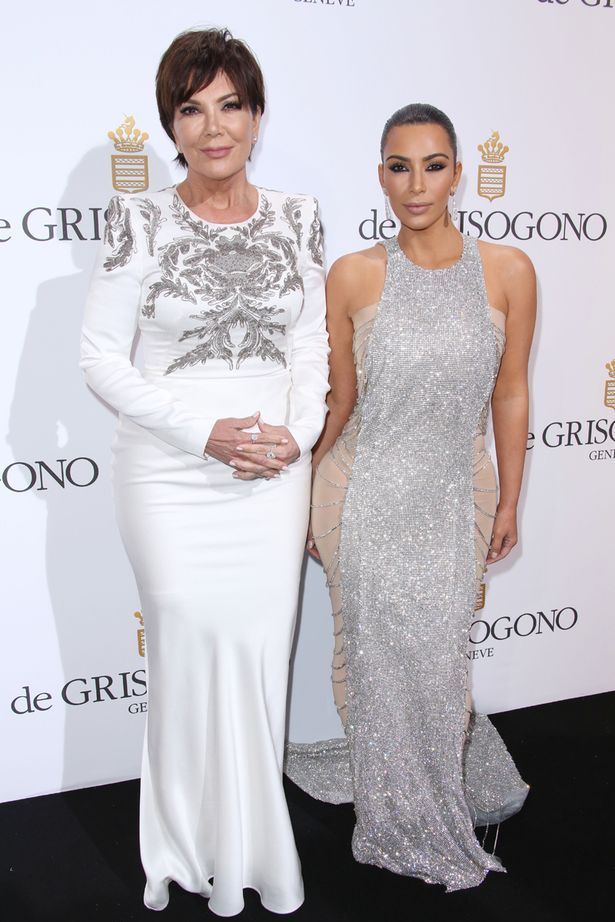 Kris Jenner and Kim Kardashian at De Grisogono Party