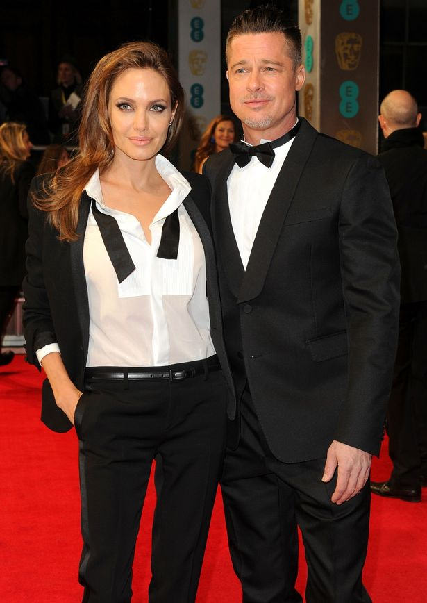 Angelina Jolie and Brad Pitt EE British Academy Film Awards, Arrivals, Royal Opera House, London, Britain