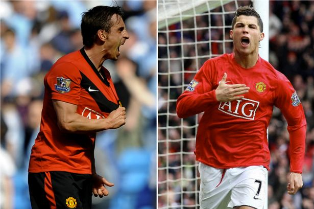 Image result for Ronaldo and Saha the only players I told Man Utd to sign - Neville