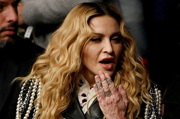 Music recording artist Madonna attends the UFC 205 event at Madison Square Garden on November 12, 2016 in New York City