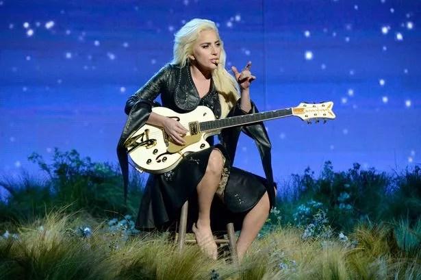 Singer Lady Gaga performs onstage