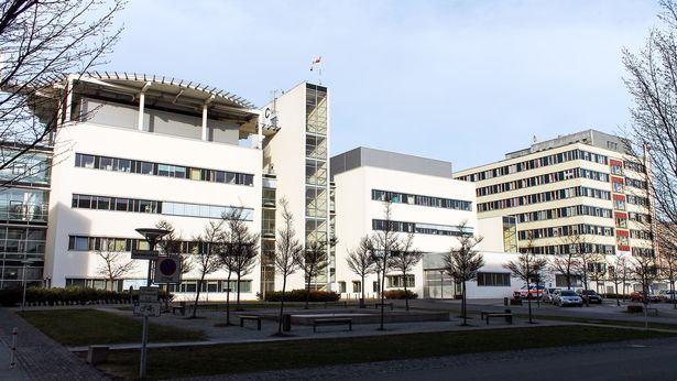 The Jena University Hospital in the German state of Thuringia