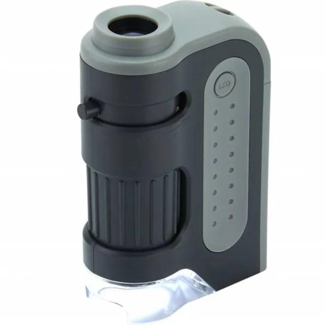 【CARSON 卡薾紳】Micro LED 隨行顯微鏡(120x)