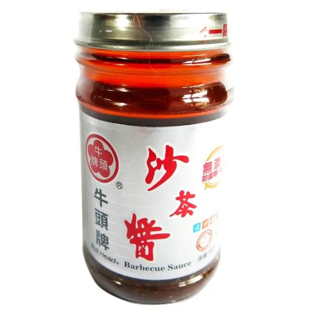 【Bull head 牛頭牌】玻璃瓶沙茶醬(127g)