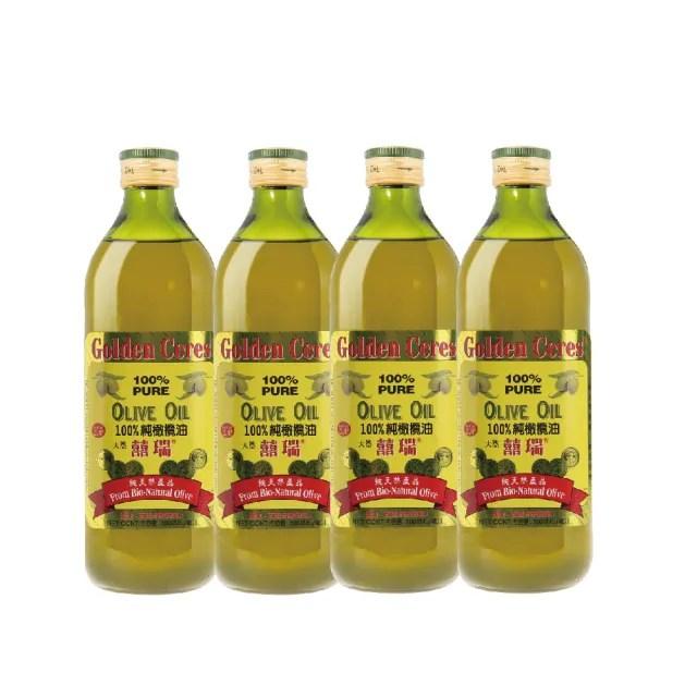 【囍瑞 BIOES】純級100%純橄欖油(4入* 1000ml)