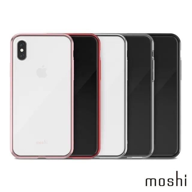【moshi】Vitros for iPhone XS/X 超薄透亮保護背殼