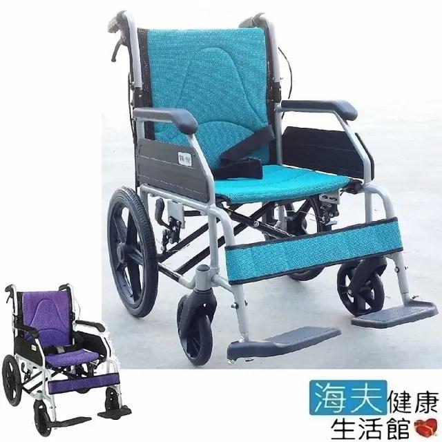 【海夫健康生活館】恆伸機械式輪椅 未滅菌 鋁合金 輕量型 後折背 看護型(ER-0013-1)