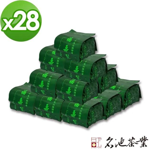 【名池茶業】福壽梨山品級花果香手採高冷烏龍茶葉(75gx28)