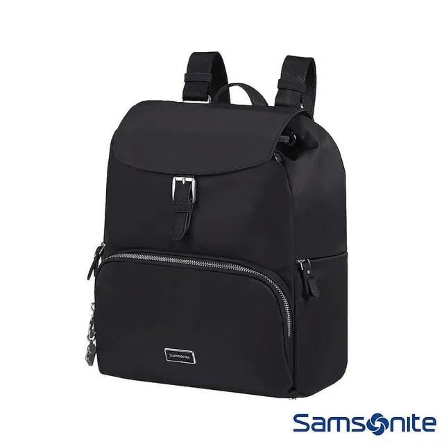 【Samsonite 新秀麗】Karissa2.0經典時尚女性後背包 黑(KC5)