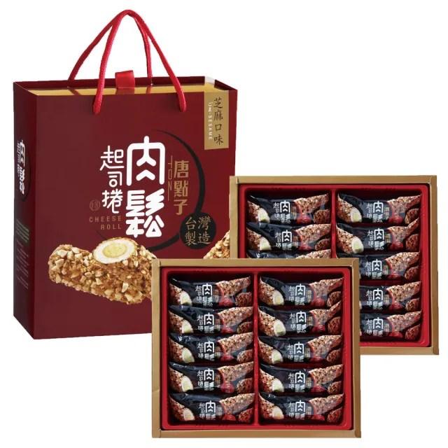 【新東陽-禮盒】肉鬆起司捲禮盒300g*5盒(芝麻/杏仁)
