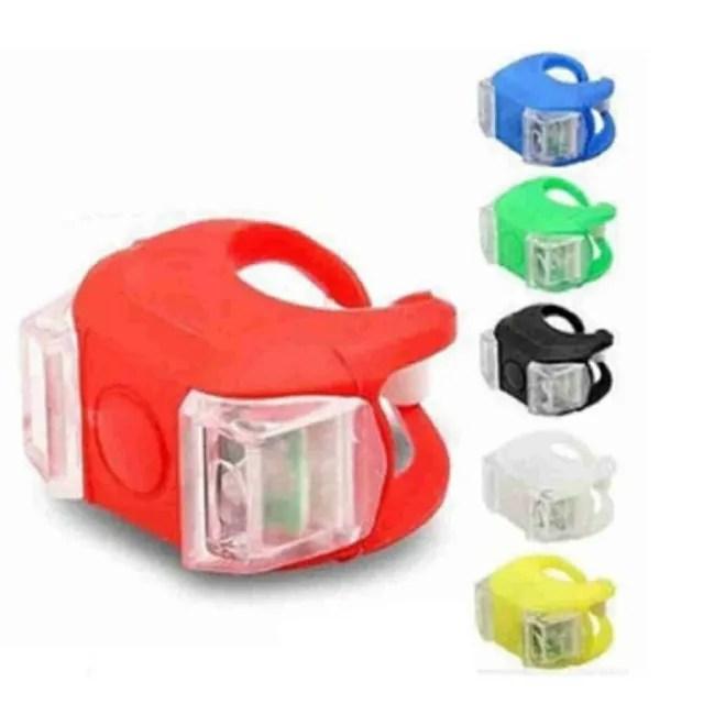 【Ainmax 艾買氏】360度 車尾燈 警示燈 自行車燈 腳踏車燈 前燈(第六代青蛙燈 送 鈴聲超大拇指鈴)