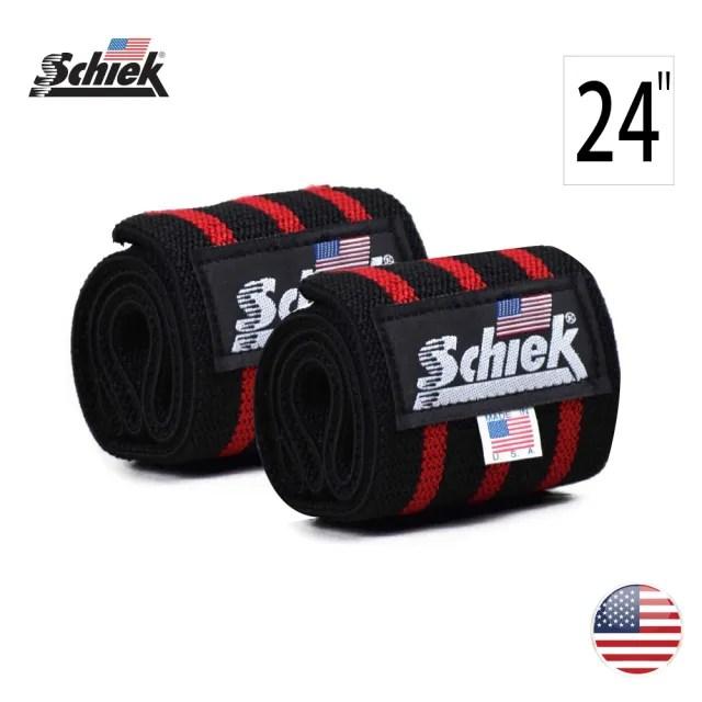 【美國 Schiek】Wrist Wraps 健身專業運動護腕(24吋/60公分運動護腕)