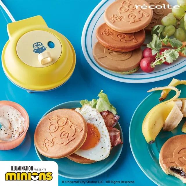 【recolte 麗克特】Mini 迷你鬆餅機 小小兵限定版(RSM-2MO)