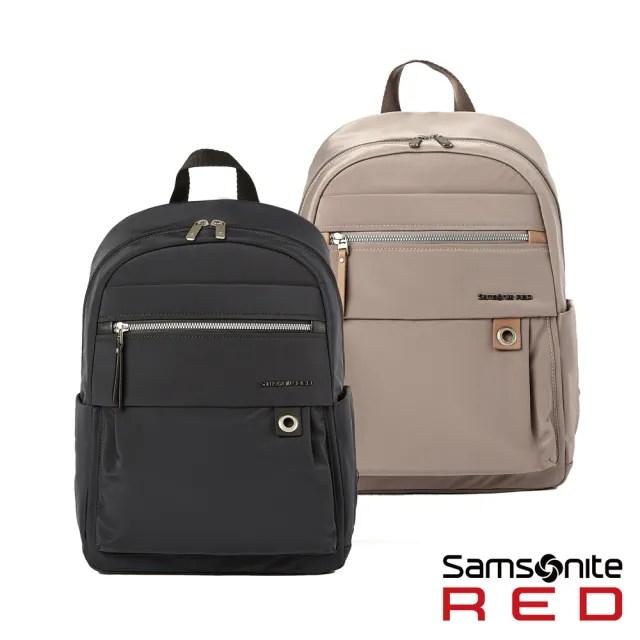【Samsonite RED】AYDIN 女性經典輕量筆電後背包M 13吋 多色可選(HP1)