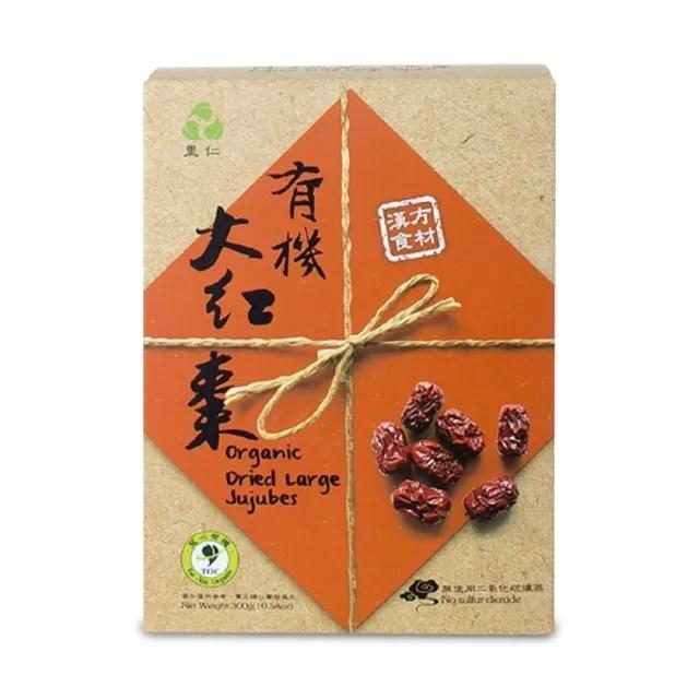 【里仁】有機大紅棗-盒裝300g