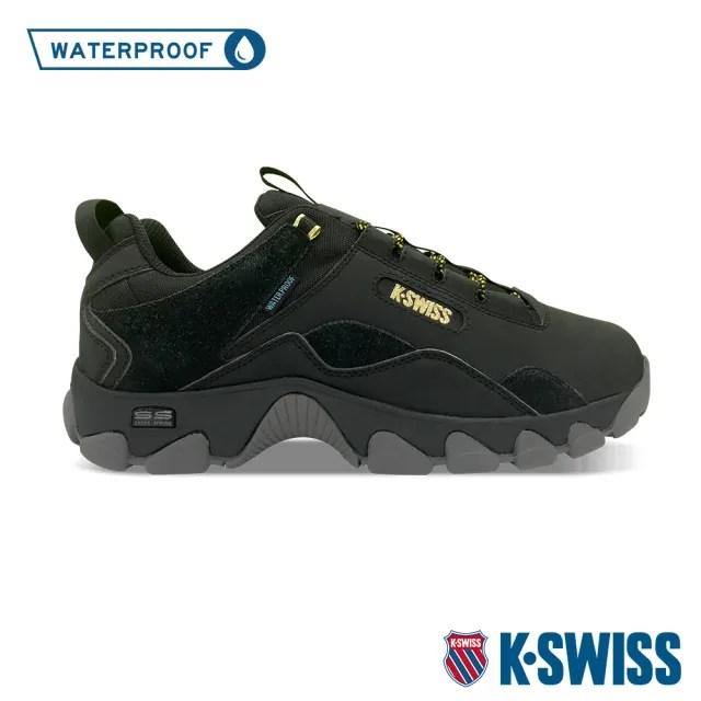【K-SWISS】戶外運動防水鞋 Cali Trail WP-男-黑(06967-009)