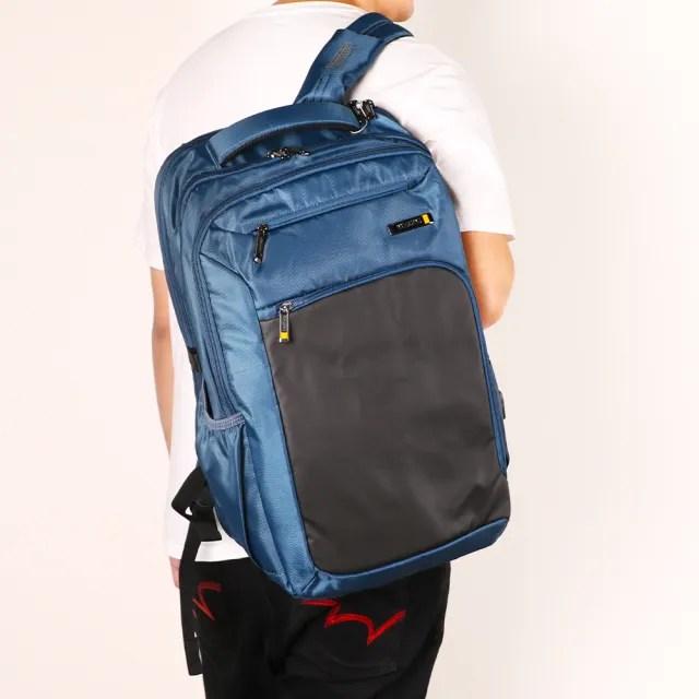 【AT美國旅行者】Segno可鎖式筆電收納後背包17吋 多色可選(HD1)