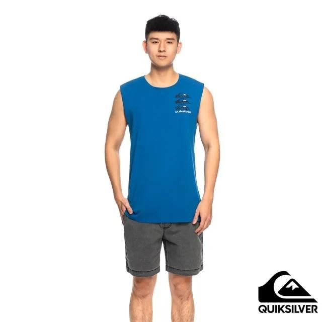 【Quiksilver】男款 男裝 背心 OG QUIK TOTEM MUSCLE(藍色)