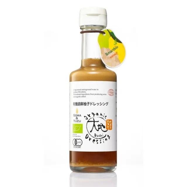 【大地】日本有機胡麻柚子和風醬175ml(釀造甘醇味 火鍋、沾醬最佳選擇)