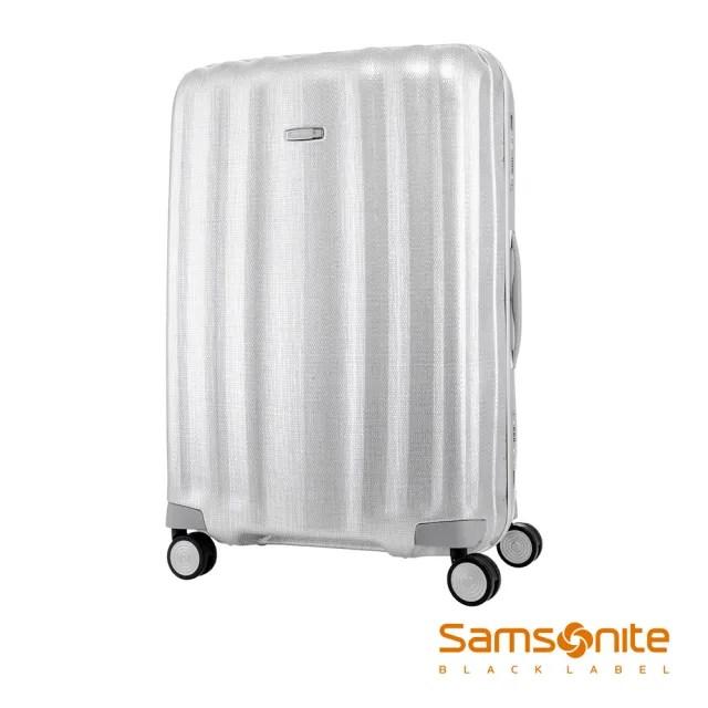 【Samsonite 新秀麗】黑標28吋Lite-Cube高質感耐衝擊Curv鋁框行李箱 鋁銀(DV8)