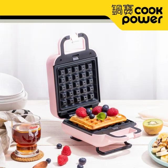 【CookPower 鍋寶】熱壓吐司鬆餅機(MF-1115P)