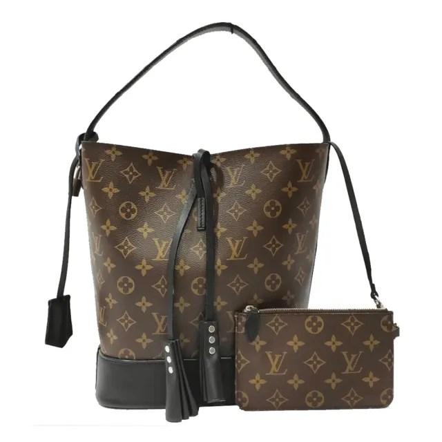 【Louis Vuitton 路易威登】M94542 經典NN14 Mono原花手提水桶包(經典花紋-限量絕版品)
