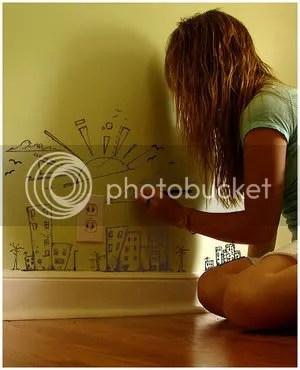 Wall doodles by Zebragum