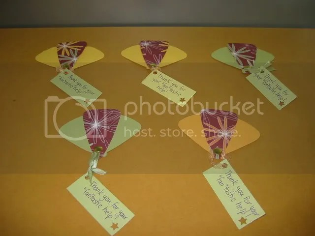 Paper Fans - Group Shot