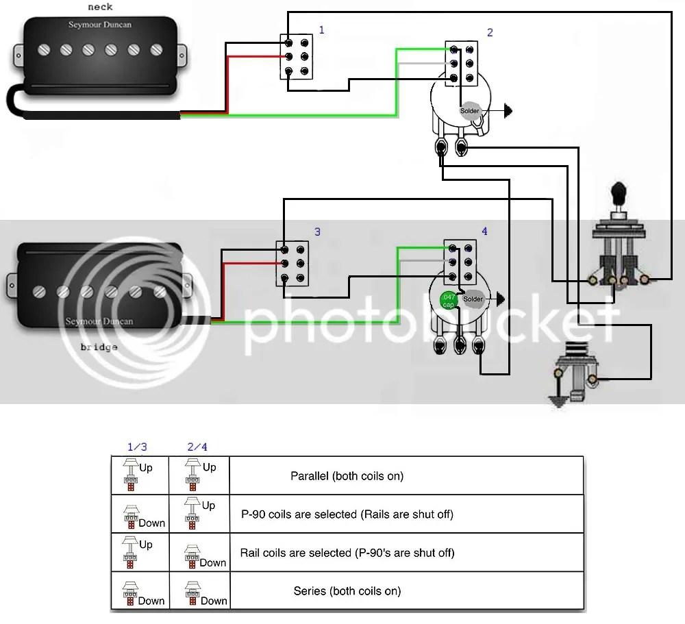 Sss Active Bass Pickup Wiring Diagram