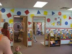 Kids ministry rooms