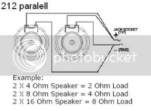 4 Ohm Speaker Wiring 8 Ohm Subwoofer Wiring Wiring Diagram ~ Odicis