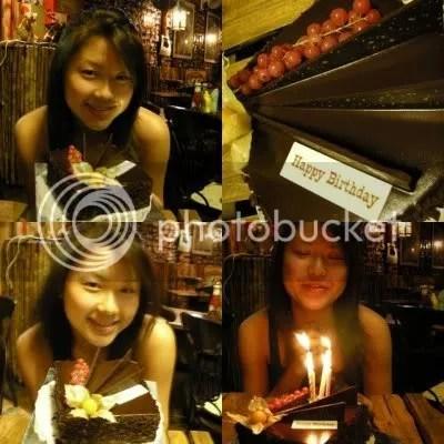Jingxi, the birthday girl