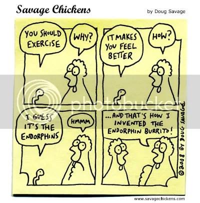 Savage Chickens photo chickenendorphin.jpg