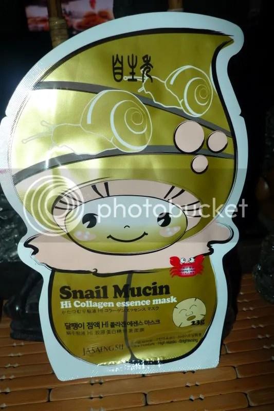 Snail Mucin...sounds slimy! :P