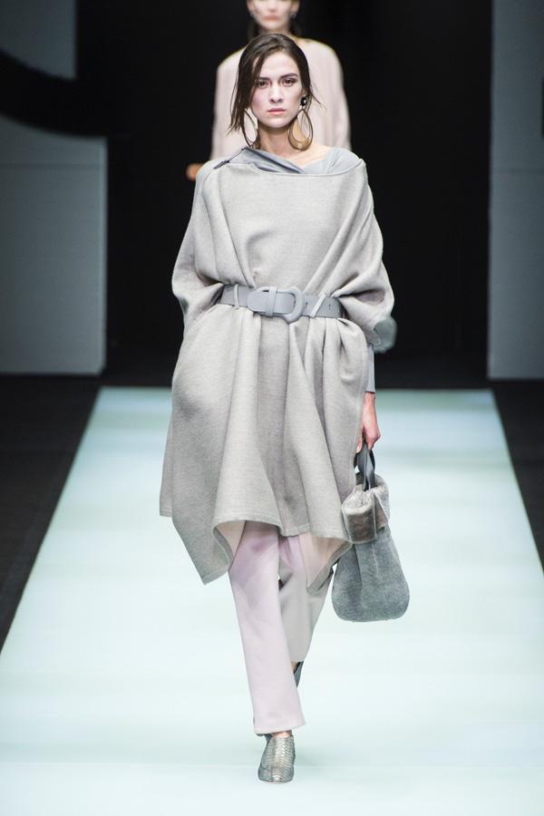 Giorgio Armani(喬治·阿瑪尼)於米蘭時裝周發布2018秋冬系列高級成衣 - 壹讀