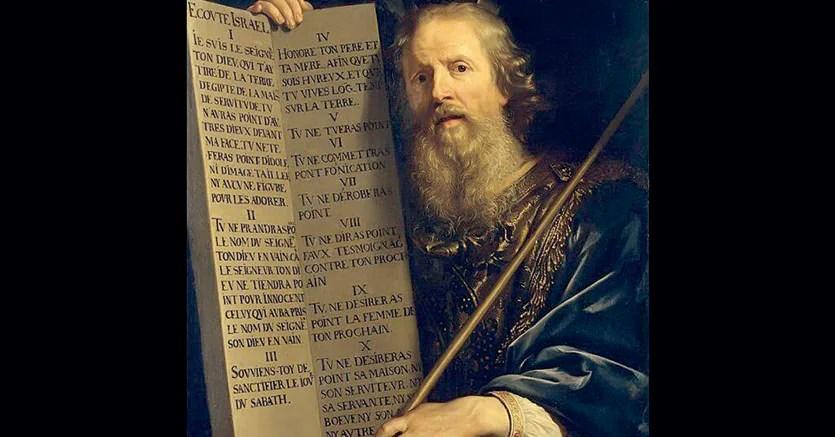 Philippe de Champaogne.«Mosè con le Tavole della Legge», 1648