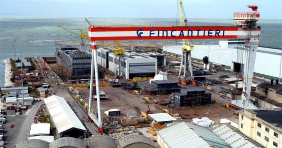 Fincantieri Saint Nazaire Calenda
